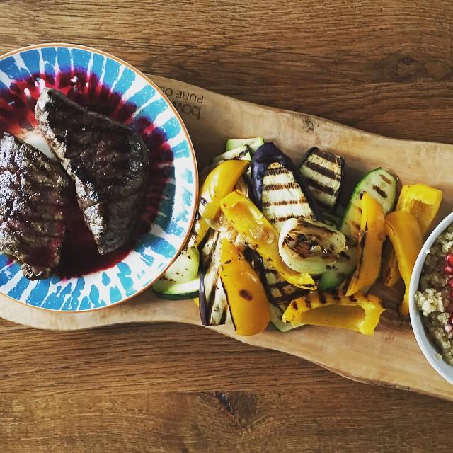 Grilled Beef & Veggies mannenvoer billenman voer voor mannen