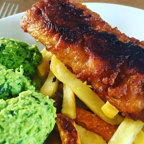 Fish & Chips in bierbeslag - koken met bier